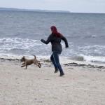 På stranden med Siri